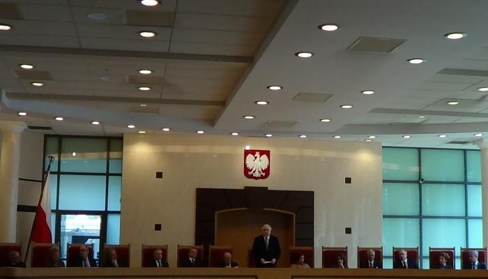 Sejm wybrał pięciu nowych sędziów Trybunału Konstytucyjnego fot. ŚWIECZAK