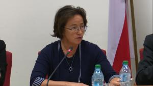 Małgorzata Mika-Bryska, Zastępca Dyrektora Departamentu Energetyki, Ministerstwo Gospodarki Polska koncepcja gospodarki niskoemisyjnej fot. ŚWIECZAK