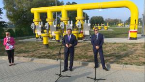 Gazociąg Rembelszczyzna-Gustorzyn otwarty fot. ŚWIECZAK