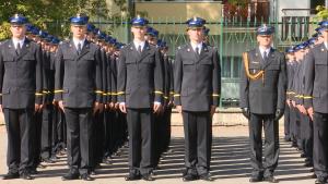 Inauguracja roku akademickiego 2015/2016, Ślubowanie podchorążych 1-go rocznika Szkoły Głównej Służby Pożarniczej. fot. ŚWIECZAK
