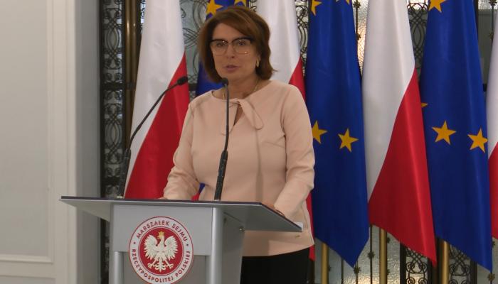 Marszałek Sejmu apeluje o udział w wyborach fot. ŚWIECZAK