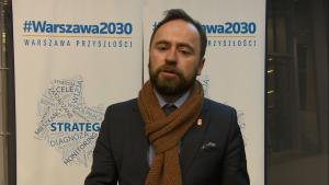 Michał Olszewski, Zastępca Prezydenta m.st. Warszawy Debata #Warszawa 2030. Gospodarka fot. ŚWIECZAK
