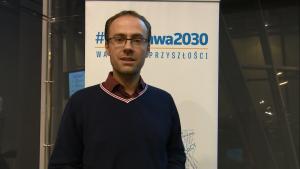 Maciej Robak,  Prezesem Poland Tour Debata #Warszawa 2030. Gospodarka fot. ŚWIECZAK