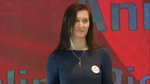 Paulina Piechna-Więckiewicz Konwencja Programowa Zjednoczonej Lewicy w Warszawie fot. ŚWIECZAK