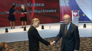 Barbara Nowacka, Grzegorz Kołodko Konwencja Programowa Zjednoczonej Lewicy w Warszawie fot. ŚWIECZAK