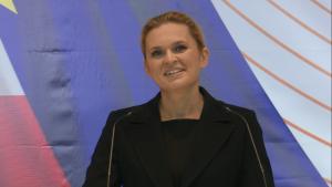 Barbara Nowacka Konwencja Programowa Zjednoczonej Lewicy w Warszawie fot. ŚWIECZAK