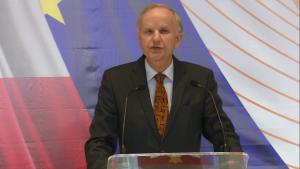 prof.Grzegorz Kołodko Konwencja Programowa Zjednoczonej Lewicy w Warszawie fot. ŚWIECZAK
