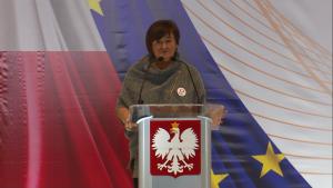 Magdalena Środa Konwencja Programowa Zjednoczonej Lewicy w Warszawie fot. ŚWIECZAK