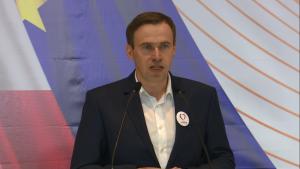Cezary Olejniczak Konwencja Programowa Zjednoczonej Lewicy w Warszawie fot. ŚWIECZAK
