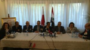 Konferencja prasowa z Ambasadorem Syrii Jego Ekscelencją dr. Idris Mayya fot. ŚWIECZAK