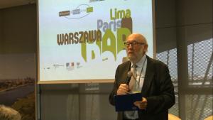 """dr Andrzej Kassenberg II Konferencja """"Z Warszawy do Paryża przez Limę"""" fot. ŚWIECZAK"""