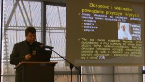 """II Konferencja """"Z Warszawy do Paryża przez Limę"""" fot. ŚWIECZAK"""