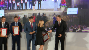 """Nagrody """"Marka Polskiej Gospodarki"""", """"Orły Eksportu"""" oraz """"Dobra Firma 2015"""" wręczone fot. ŚWIECZAK"""