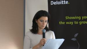 Ilona Antoniszyn-Klik, podsekretarz stanu w Ministerstwie Gospodarki Inauguracja raportu REmap 2030. Perspektywy rozwoju energii odnawialnej w Polsce fot. ŚWIECZAK