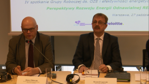 Inauguracja raportu REmap 2030. Perspektywy rozwoju energii odnawialnej w Polsce fot. ŚWIECZAK