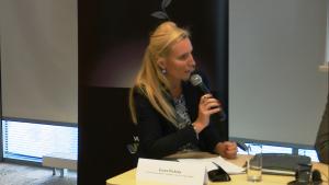 Irena Pichola Partner Deloitte Lider zespołu ds. zrównoważonego rozwoju w Polsce i w Europie Środkowej Inauguracja raportu REmap 2030. Perspektywy rozwoju energii odnawialnej w Polsce fot. ŚWIECZAK