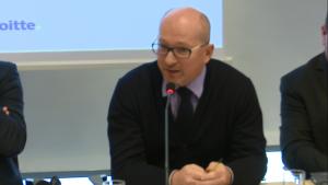 Wojciech Cetnarski Prezes PSEW Inauguracja raportu REmap 2030. Perspektywy rozwoju energii odnawialnej w Polsce fot. ŚWIECZAK