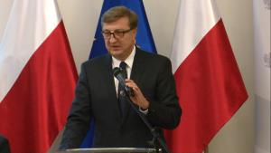 """Jan Chadam - Polskie LNG SA/OGP Gaz System SA Konferencja """"Doświadczenia z wdrażania funduszy europejskich 2007–2013 w sektorze energetyki w ramach POIiŚ"""" fot. ŚWIECZAK"""