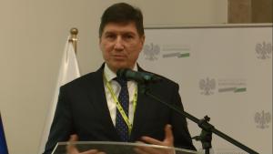 """Dr inż. Henryk Majchrzak  Prezes Zarządu PSE S.A. Konferencja """"Doświadczenia z wdrażania funduszy europejskich 2007–2013 w sektorze energetyki w ramach POIiŚ"""" fot. ŚWIECZAK"""