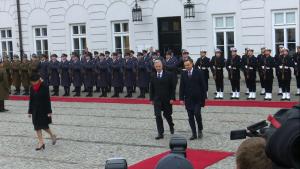 Belgijska Para Królewska z oficjalną wizytą w Polsce fot. ŚWIECZAK