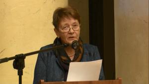 prof. dr Zofia Rosińska Uniwersytet Warszawski IV Warszawskie Forum Psychiatrii Środowiskowej fot. ŚWIECZAK