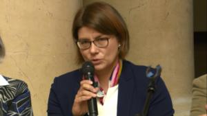 dr Izabela Stefaniak Polskie Towarzystwo Psychiatryczne IV Warszawskie Forum Psychiatrii Środowiskowej fot. ŚWIECZAK