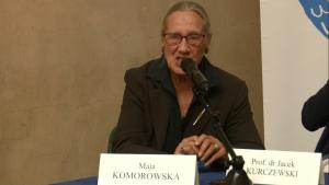 Maja Komorowska aktorka i pedagog IV Warszawskie Forum Psychiatrii Środowiskowej fot. ŚWIECZAK
