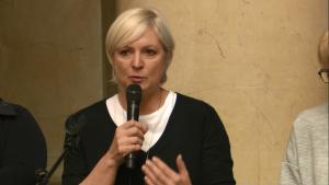 """Iwona Schymalla Fundacja """"Żyjmy Zdrowo"""" IV Warszawskie Forum Psychiatrii Środowiskowej fot. ŚWIECZAK"""