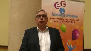 prof. dr Paweł Bronowski APS IV Warszawskie Forum Psychiatrii Środowiskowej fot. ŚWIECZAK