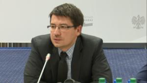 Mariusz Haładyj podsekretarza stanu w MG Międzynarodowy Dzień mediacji - perspektywy rozwoju polubownych metod rozwiązywania sporów w Polsce fot. ŚWIECZAK