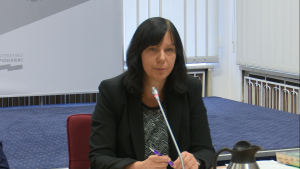sędzia Joanna Sauter-Kunach  Międzynarodowy Dzień mediacji - perspektywy rozwoju polubownych metod rozwiązywania sporów w Polsce fot. ŚWIECZAK