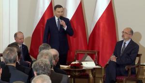 Andrzej Duda inauguruje prace nad powstaniem Strategii Polskiej Polityki Historycznej fot. ŚWIECZAK