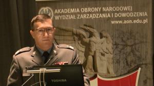 gen.bryg.Stefan Mordacz, Szef Zarządu Obrony Powietrznej i Przeciwrakietowej Obrona powietrzna w systemie bezpieczeństwa państwa fot. ŚWIECZAK
