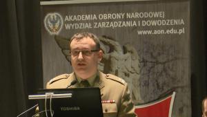 mjr dr inż. Dariusz RODZIK (WAT) Obrona powietrzna w systemie bezpieczeństwa państwa fot. ŚWIECZAK