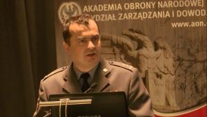ppłk Tomasz SZWAŁOGA (Zarząd Rozpoznania i WE - J2 DO RSZ) Obrona powietrzna w systemie bezpieczeństwa państwa fot. ŚWIECZAK