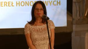 Krystyna Woźniak-Trzosek redaktor naczelna miesięcznika Polish Market XIII Wielka Gala Pereł Polskiej Gospodarki fot. ŚWIECZAK