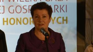 Hanna Gronkiewicz-Waltz Prezydent Warszawy XIII Wielka Gala Pereł Polskiej Gospodarki fot. ŚWIECZAK