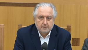 prof. dr hab. Andrzej Rzepliński, Prezes Trybunału Konstytucyjnego Kontrola konstytucyjności prawa a stosowanie prawa fot. ŚWIECZAK