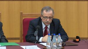 prof. dr hab. Piotr Tuleja sędzia Trybunału Konstytucyjnego Kontrola konstytucyjności prawa a stosowanie prawa fot. ŚWIECZAK