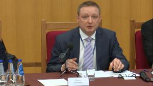 dr Mikołaj Hermann, Biuro Trybunału Konstytucyjnego Kontrola konstytucyjności prawa a stosowanie prawa w orzecznictwie NSA, SN i TK fot. ŚWIECZAK