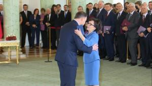 Prezydent Andrzej Duda powołał nowy rząd fot. ŚWIECZAK