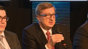 Jan Chadam, Prezes Zarządu, GAZ-SYSTEM S.A., Prezes Zarządu spółki Polskie LNG S.A XXII Konferencja Energetyczna EuroPOWER FOT. ŚWIECZAK