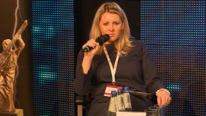 Dorota Dębińska–Pokorska, Dyrektor i Lider Grupy Energetycznej, PwC XXII Konferencja Energetyczna EuroPOWER fot. ŚWIECZAK
