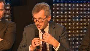 """Roman Walkowiak, Wiceprezes Zarządu ds. Produkcji, """"Energetyka"""" sp. z o.o. XXII Konferencja Energetyczna EuroPOWER fot. ŚWIECZAK"""