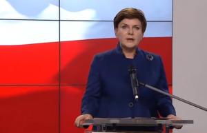 Prezes Beata Szydło Szydło przestawiła skład rządu fot. ŚWIECZAK