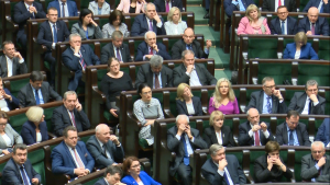 Sprawozdanie Komisji Nadzwyczajnej o poselskim projekcie uchwały w sprawie zmiany Regulaminu Sejmu Rzeczypospolitej Polskiej fot. ŚWIECZAK