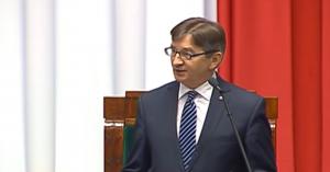 Marek Kuchciński Marszałek Sejmu Expose premier Beaty Szydło fot. ŚWIECZAK