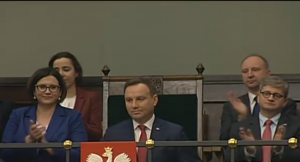 Andrzej Duda Prezydent RP Expose premier Beaty Szydło fot. ŚWIECZAK