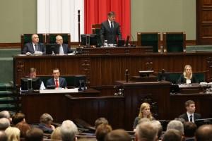 Marek Kuchciński marszałkiem Sejmu VIII kadencji fot. Krzysztof Białoskórski