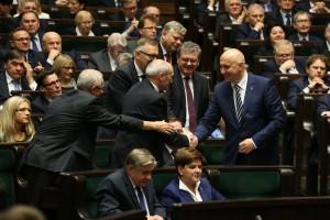 Wicemarszałkowie Sejmu VIII kadencji wybrani fot. Krzysztof Białoskórski